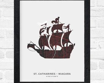 St. Catharines-Niagara Tall Ship Print