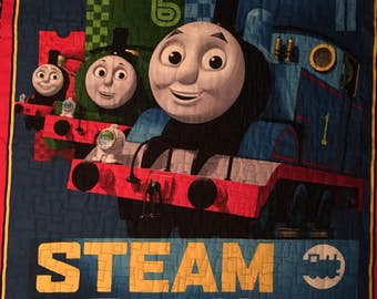 Thomas the Train Quilt