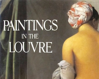 Paintings in the Louvre by Lawrence Gowing, Hardcover Large Book (#1000)