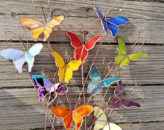 garden art stained glass