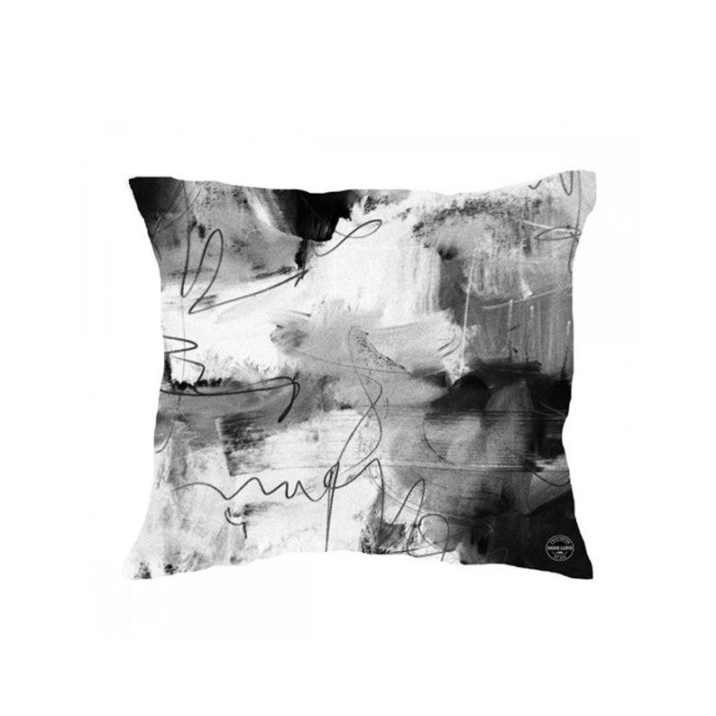 Home Decor Accessories Urban Inspired Abstract Art Print Cushion Cushion Cover Pillow Abstract Art Print Cushion Somewhere III