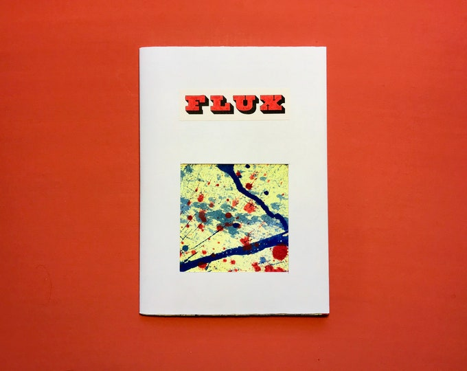 FLUX zine - a tactile poem