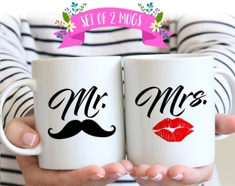Mr. and Mrs. Coffee Mugs, Mr and Mrs Coffee Mugs, Mr Mrs Coffee Mugs, Mr and Mrs Mugs, Mr and Mrs Coffee Mugs, Couples Mug Set