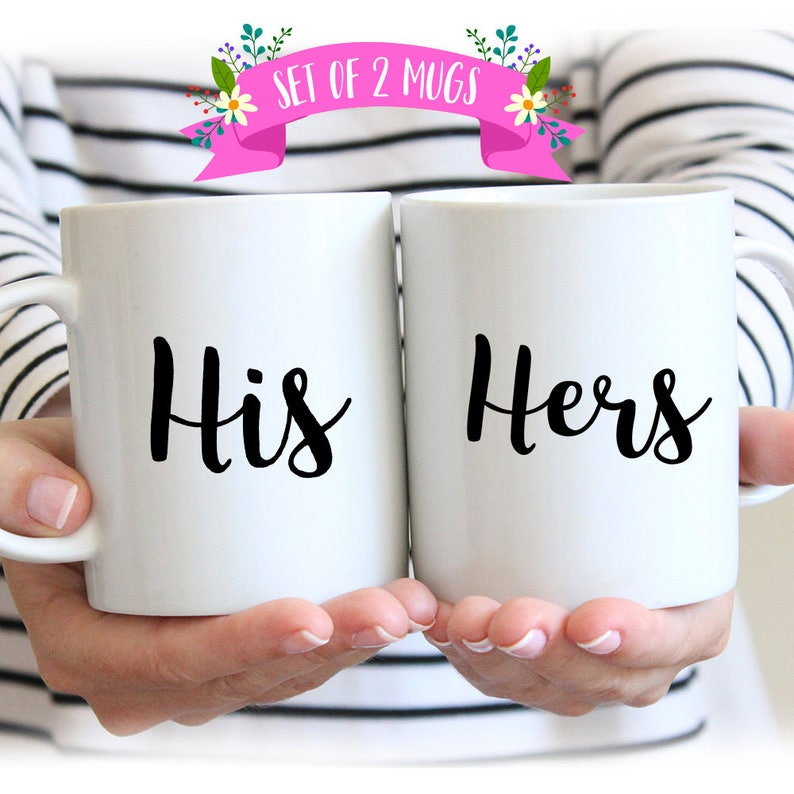 Gift MugsCoffeeCouples SetsHers And Mug His Her Coffee GiftWedding Tl1JcF3K