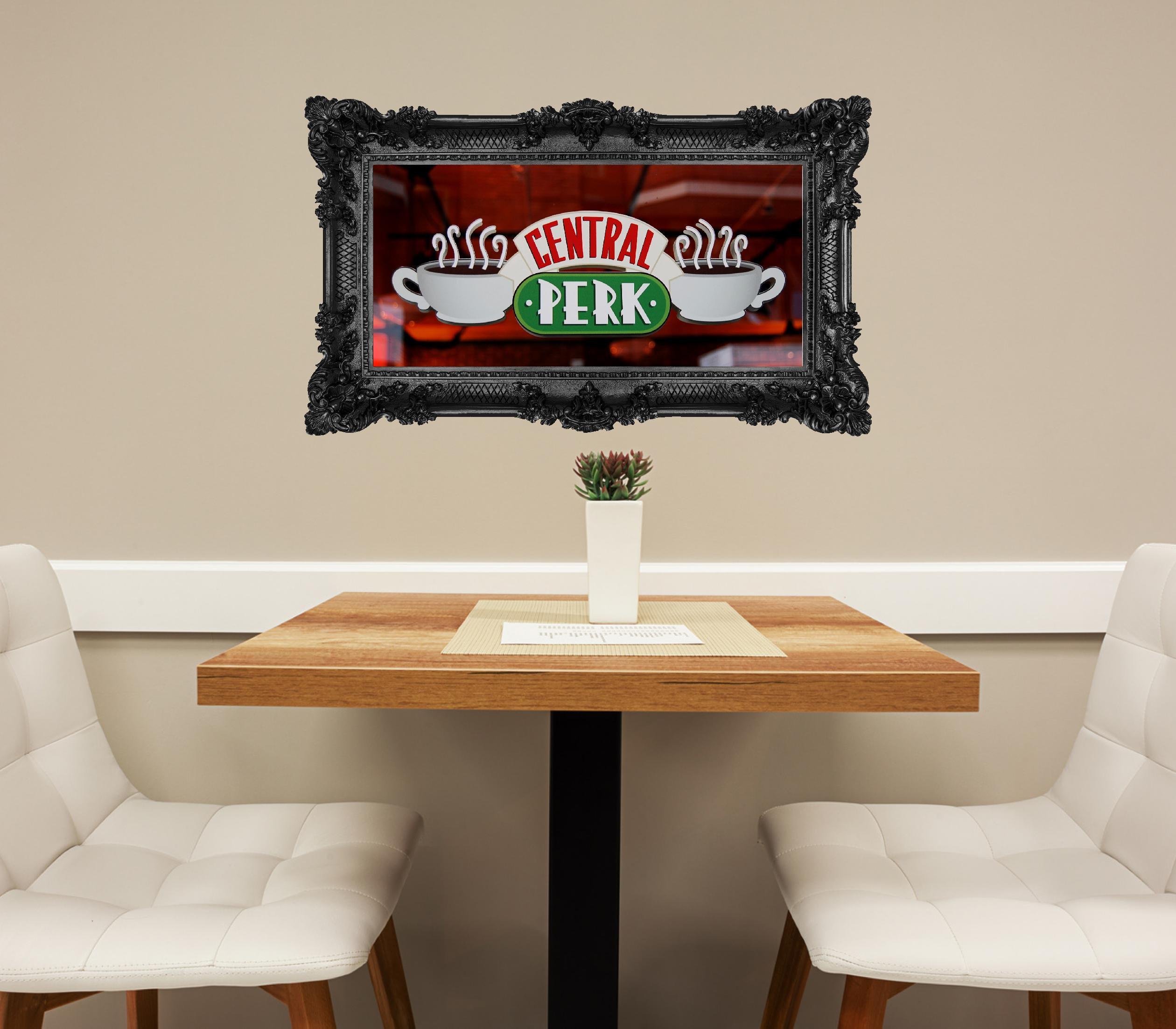 Central Perk Logo Frame Wall Decal Friends TV Show Friends