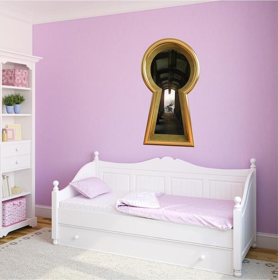 Alice in Wonderland White Rabbit Inspired Home Wall Art Decal Vinyl Sticker