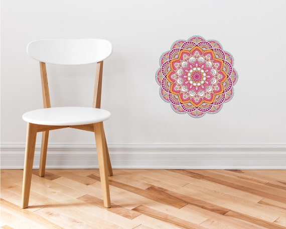 Remarkable Mandala Wall Decal 7 Mandala Tapestry Wall Art Bohemian Tapestry Yoga Studio Decor Removable Vinyl Peel And Stick Wall Sticker Caraccident5 Cool Chair Designs And Ideas Caraccident5Info