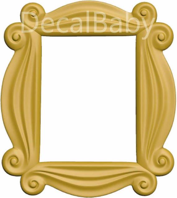 Friends TV Show Peephole Frame Wall Decal Sticker Friends | Etsy