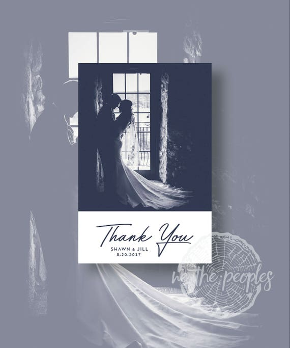 PERSONALISED WEDDING BLACK THANK YOU TO GUESTS CARDS 6X4 MANY COLOURS