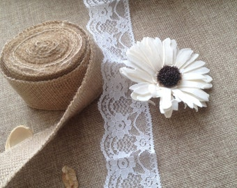Lace, crochet ribbon