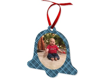Baby's First Christmas Photo Ornament, Photo Gifts, Photo Christmas Gifts, Personalized Christmas Gifts, Personalized Christmas Ornament