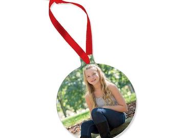 Custom Photo Christmas Ornament, Photo Gifts, Photo Christmas Gifts, Personalized Christmas Gifts, Personalized Christmas Ornament