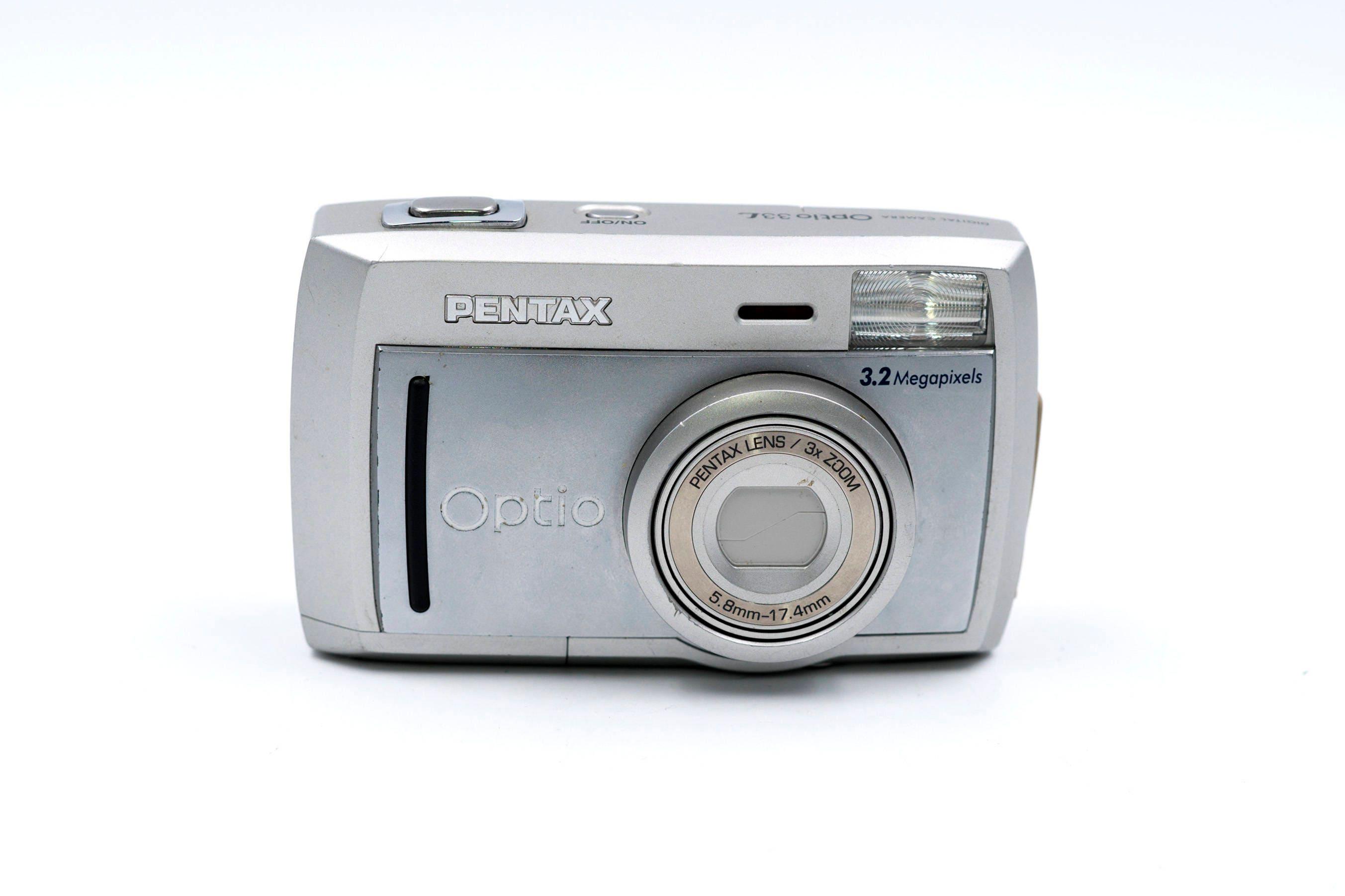 pentax optio 33l digital camera excellent condition rh vintagecamerastore us Pentax Optio S1 Pentax Optio E10 Drivers