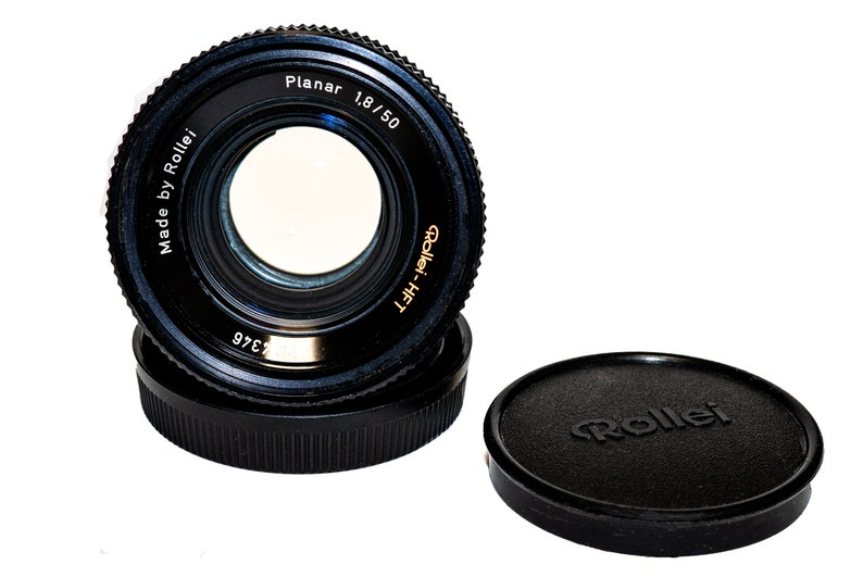 Rollei Planar 1.8 50 HFT Carl Zeiss Planar 1.8 50mm Excellent Quality and Condition Prime Lens