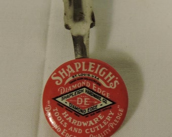 Shapleigh's Diamond Edge Hardware Tools and Cutlery St. Louis Vintage Advertising