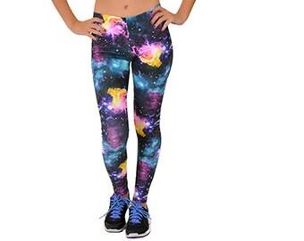 fada95b3221196 Women's Galaxy Print Leggings