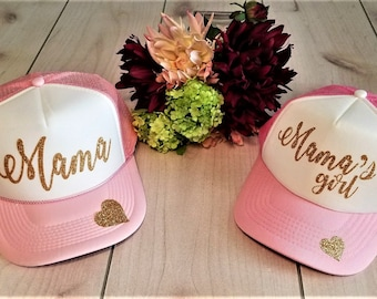 3f50b6f0e71 Mother daughter hats | Etsy
