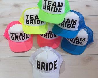 ae9a947a7 Team bride hat   Etsy