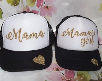 Mama and Mamas girl matching Hat Set 331c255ae99