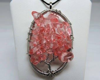 Tree of Life Gemstone Pendant