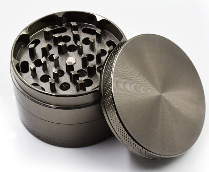 Medieval Saturn Planetary Zodiac Extra Large 5 Piece Spice Tobacco Herb Grinder with PollenKeef Catcher