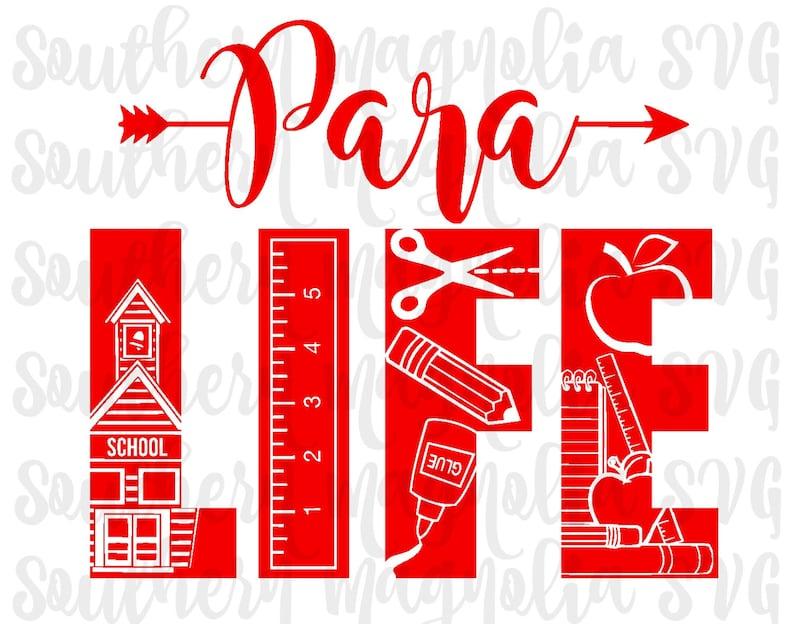 Para Life Teacher Life Para Pro Life Designs Arrows Etsy