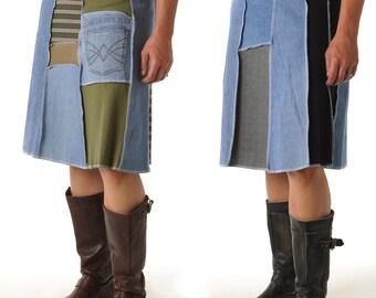 Denim Juju Skirt (Long)