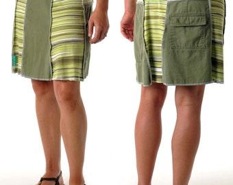 Stripe Juju Skirt (Mid)