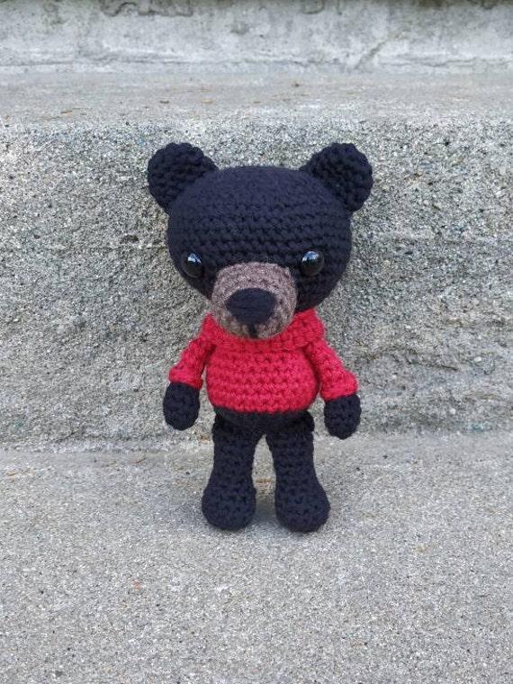 Ravelry: Berry the Black Bear pattern by Ida Herter | 760x570