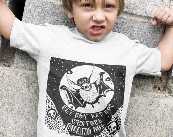 Bat Boy - Whatcha GUANO do ?! -  Kid's Tshirt - Halloween