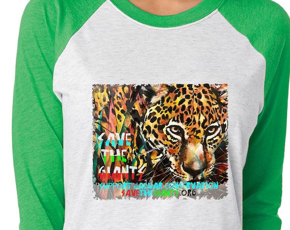 Save the Giants Jaguar - Original Artwork  - Unisex Baseball Tshirts