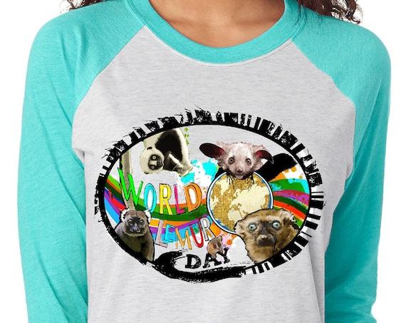 World Lemur Day - Unisex Baseball Tshirts