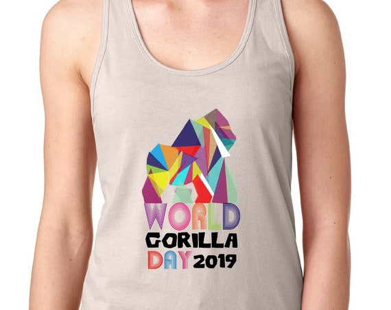World Gorilla Day - Women's Racerback Tank