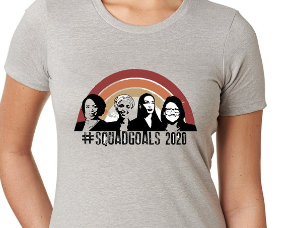 Squad Goals 2020 - Women's Next Level Fitted T-Shirt