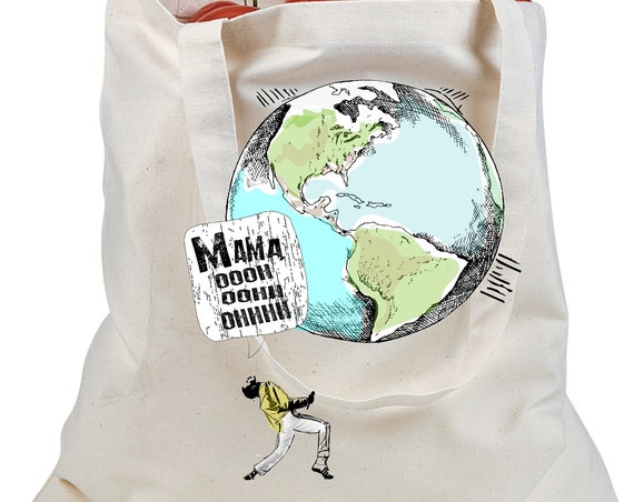 Freddie Mercury - Earth Day Tote