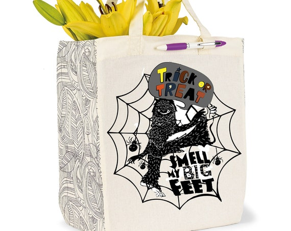 Trick or Treat, Smell my Big FEET! -  Sassquatch Trick or Treat Bags
