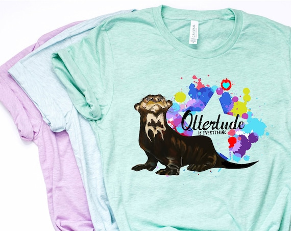 Ottertude is Everything - Giant Otter - Unisex T-shirts - 3001