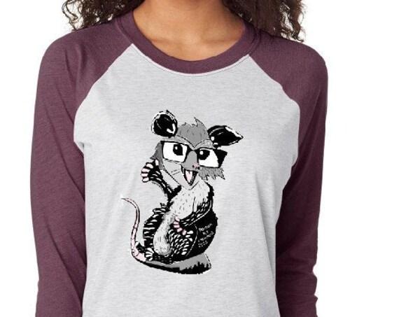Opossum For President 2020 - Unisex Baseball Tshirts