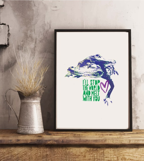 I'll stop the World and Melt with You - Original Artwork - Prints