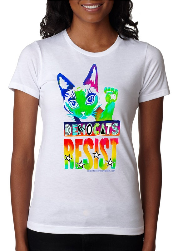 DEMOCATS RESIST 2020 Shirt - Men and Women's  Tshirt