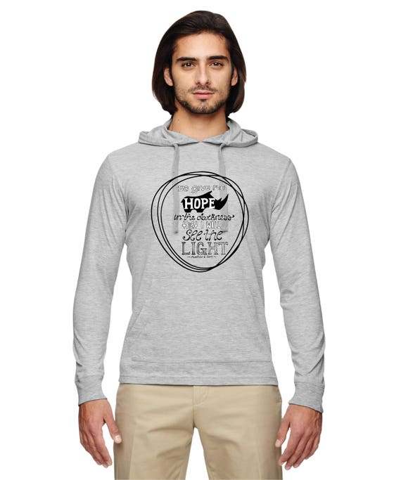 There's Still HOPE - Rhino Econscious Unisex 4.25 oz. Blended Eco Jersey Pullover Hoodie