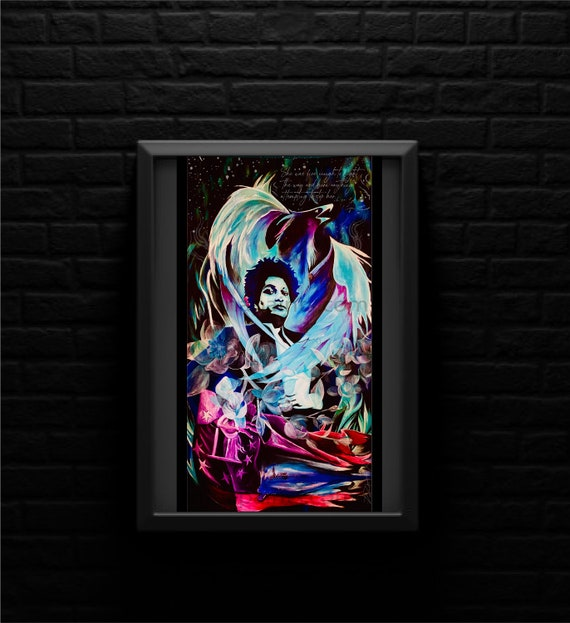Stacey Abrams - Rising Phoenix - She was fire enough to light the way and burn anything attempting to stop her - Original Artwork - Prints