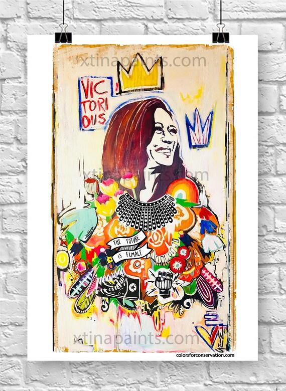 Kamala Harris Poster - Original Artwork - Prints