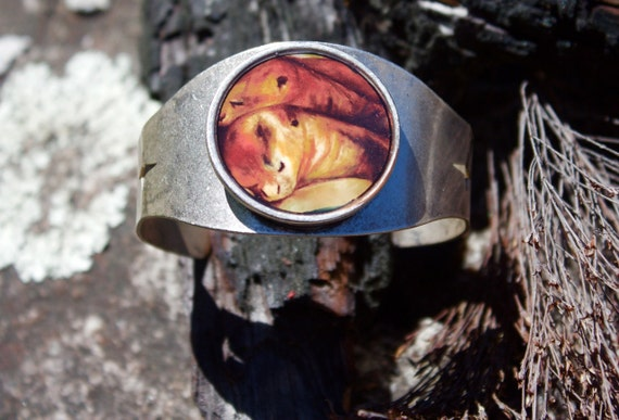 Giant Otter Cuff Bracelet
