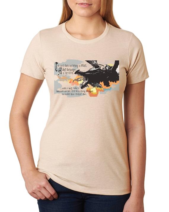 Dragons Save the World - Women's Tshirt