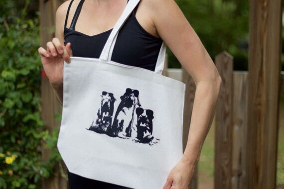 Giant otter Canvas Tote