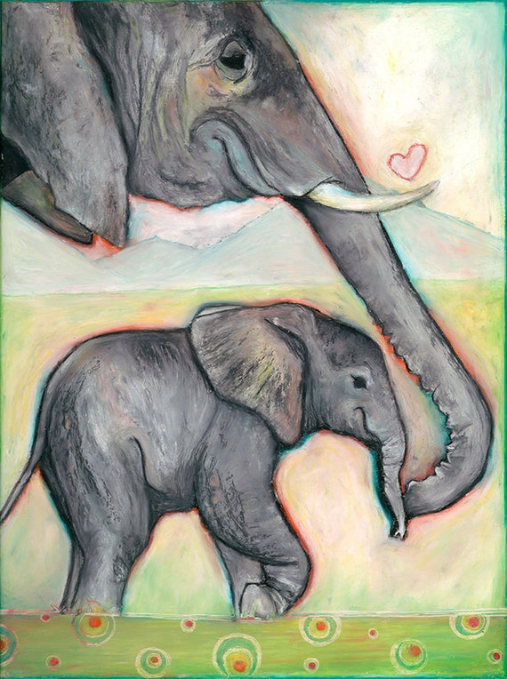 ELEPHANT PRINTS! (Giclee)