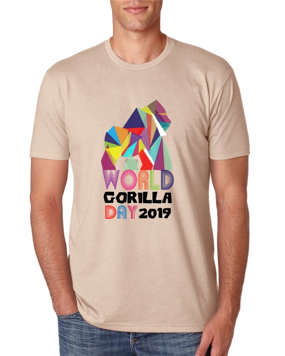 World Gorilla Day - Men's Tshirt