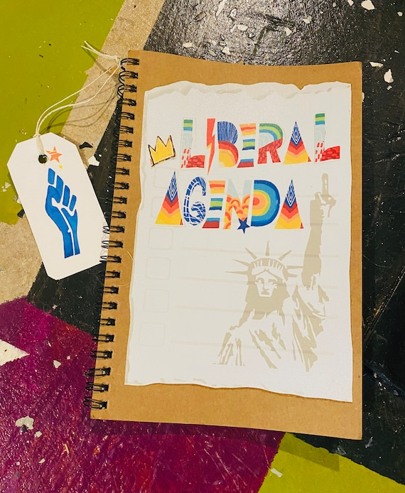Liberal Agenda - Original Artwork - 100 page Kraft Journal