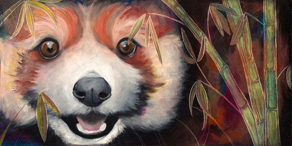 RED PANDA PRINTS! (Giclee)